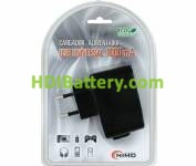 CAR171 Cargador Alimentador 100-240Vca / USB 5Vcc-1000mA